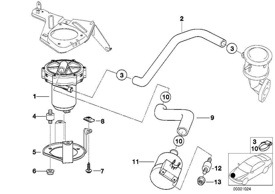 bmw 528i air pump
