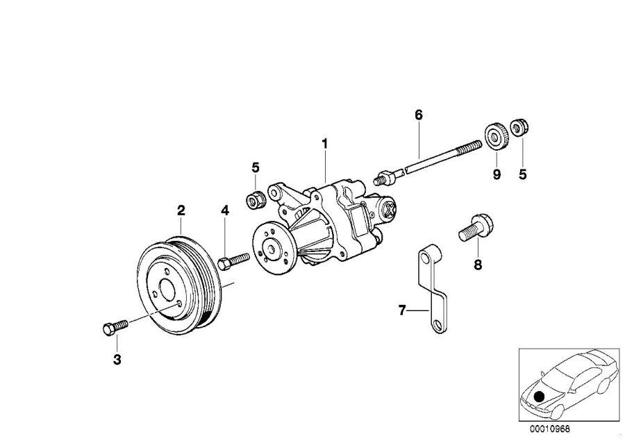 32421742233     BMW    Holder Steering  Pump  Power      BMW    Northwest  Taa WA