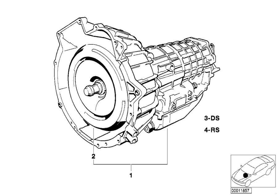 bmw 635csi gear box  e24  transmission