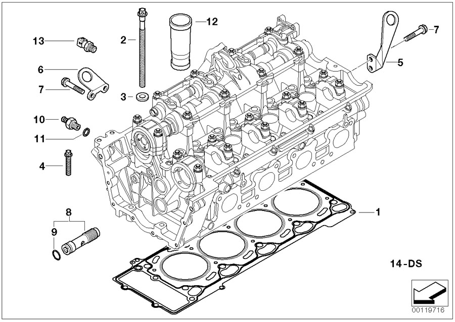 2008 bmw 650i engine diagram