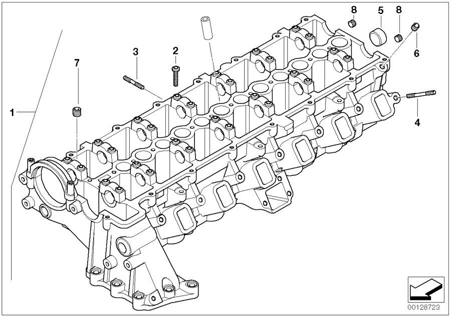 bmw 335d rocker arm  head  engine  cylinder