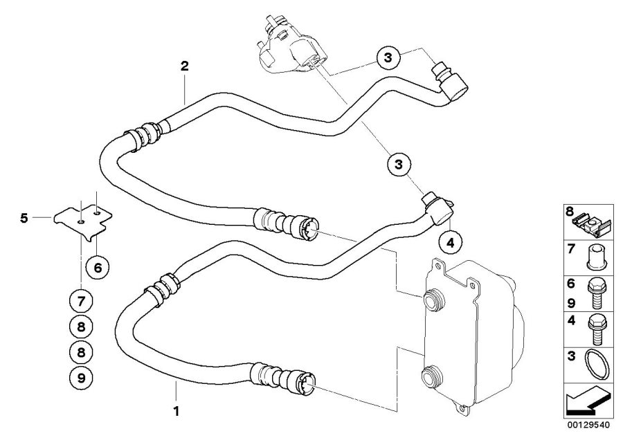 2004 bmw 745li belt diagram