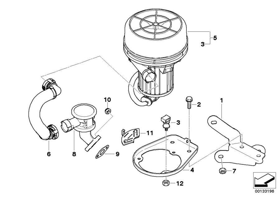 Bmw X3 Gasket Steel  Cylinder  Control  Engine