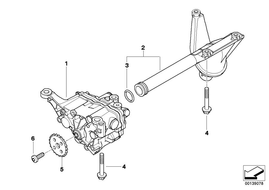 bmw 330xi set of aluminium screws oil pump  engine  coup u00e9