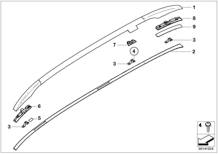 Bmw E46 Exterior Trim Parts Diagram Com