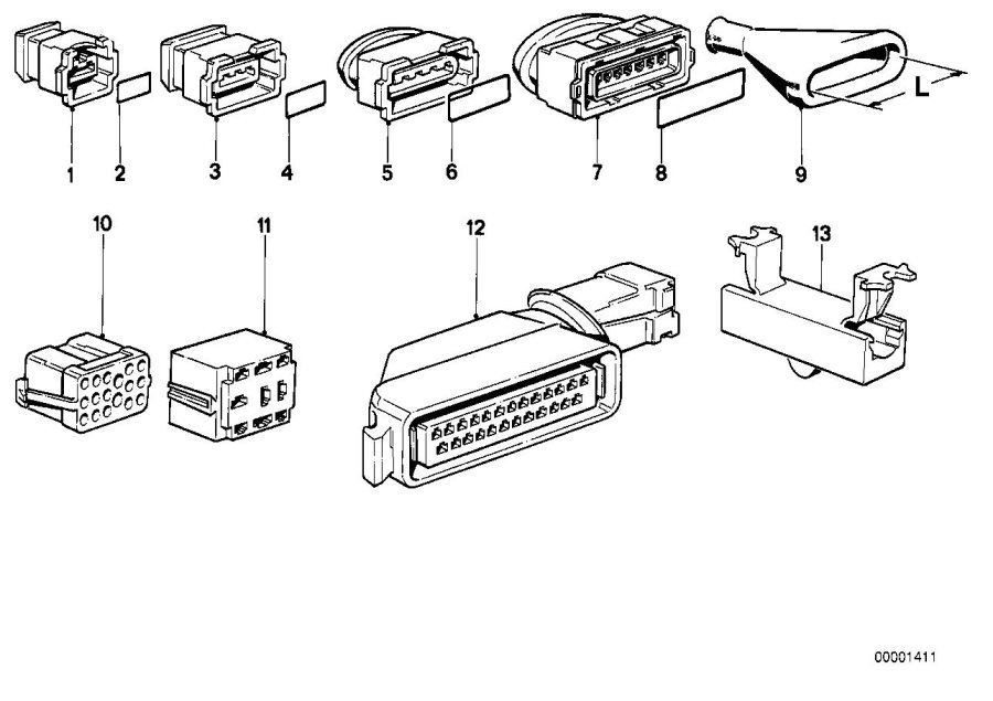 Bmw 318i Plug Terminal For Fuse Box  Wiring  Electrical