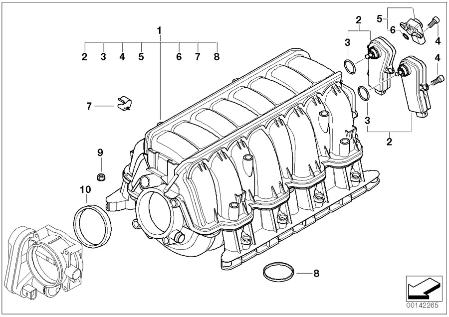 2005 bmw 545i engine diagram  bmw  auto wiring diagram