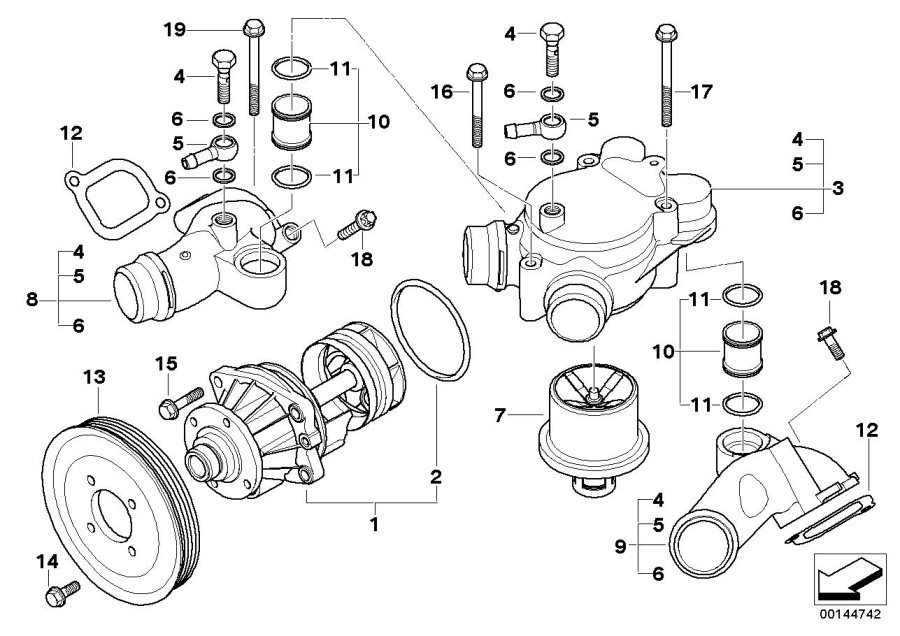 1997 bmw z3 parts diagram html