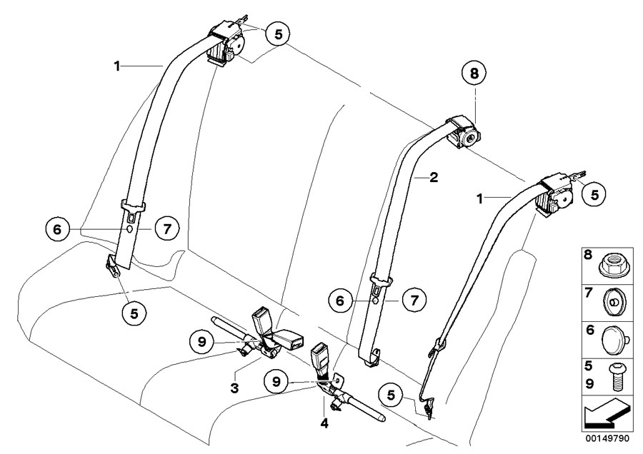 2008 bmw 328xi belt diagram