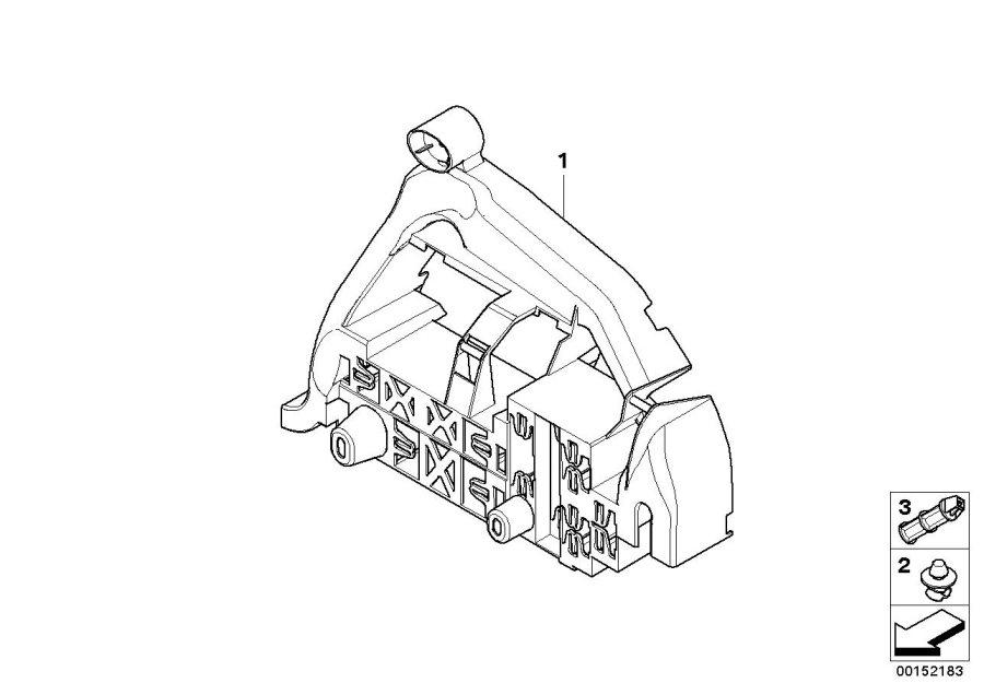bmw 525xi bracket for module