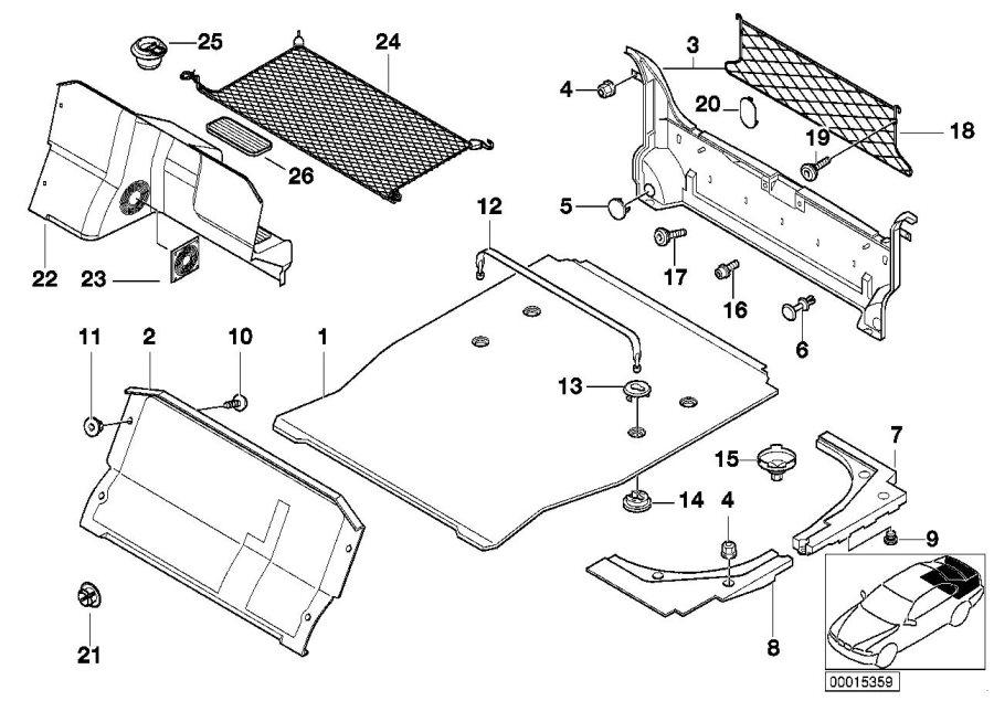 bmw 740ilp battery wiring cap trim 51478206645 bmw. Black Bedroom Furniture Sets. Home Design Ideas