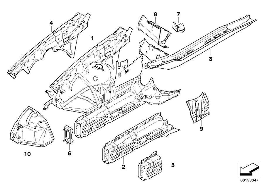 bmw 2007 x3 e83 engine diagram