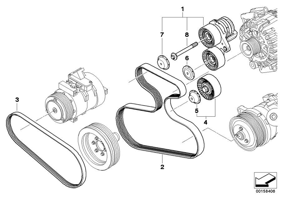 Bmw X5 Mechanical Belt Tensioner  Drive