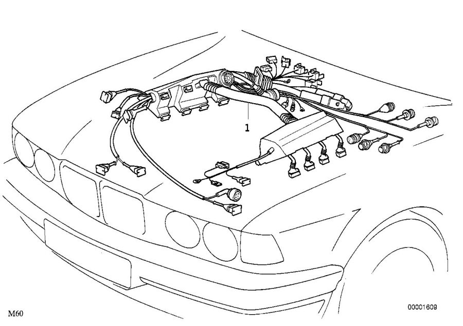 2000 bmw 540i engine diagram