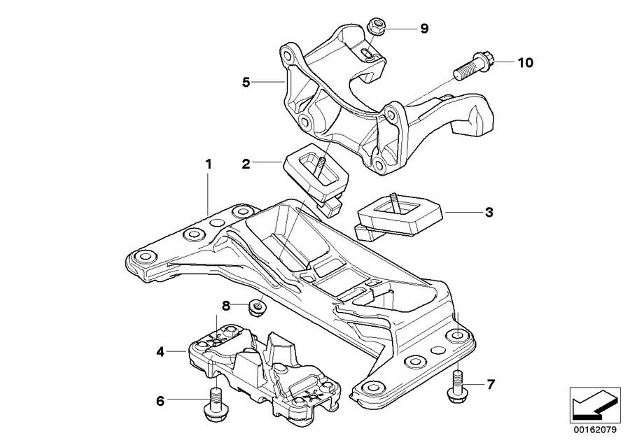 bmw 528i cross member  gearbox  suspension  transmission  mounts  engine
