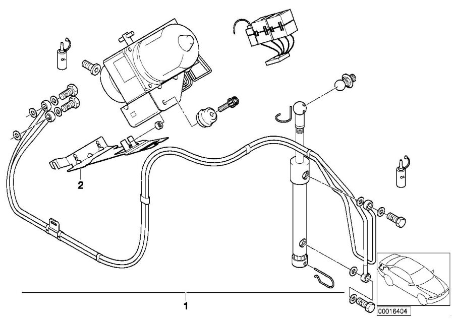 2000 bmw z3 convertible parts diagram