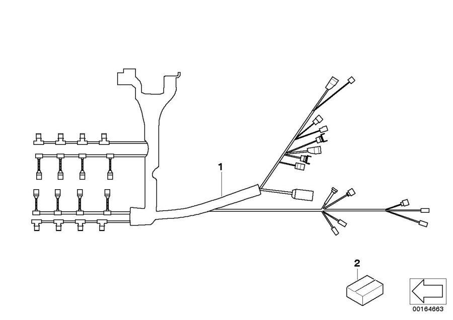 BMW M3 Repair kit intake temperature sensor. Harness ...