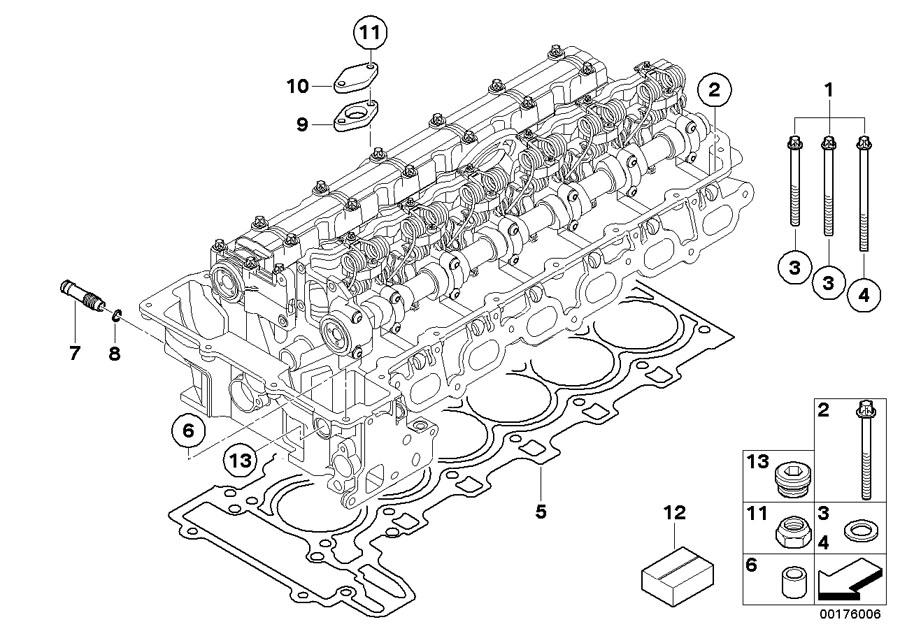 on 2006 Bmw 325i Cylinder Head Diagram
