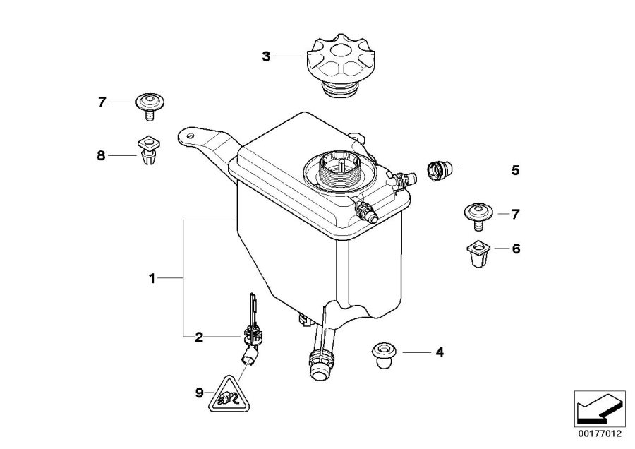 bmw 535xi radiator cap alpina tank expansion. Black Bedroom Furniture Sets. Home Design Ideas