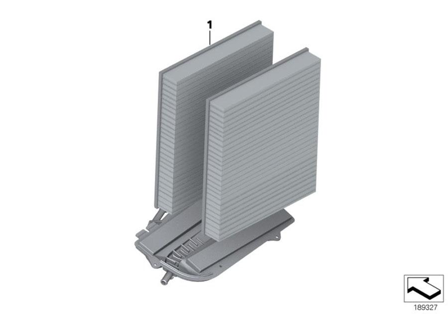 Bmw 740lix Set  Microfilter  Activ  Charcoal Filter  Alpina