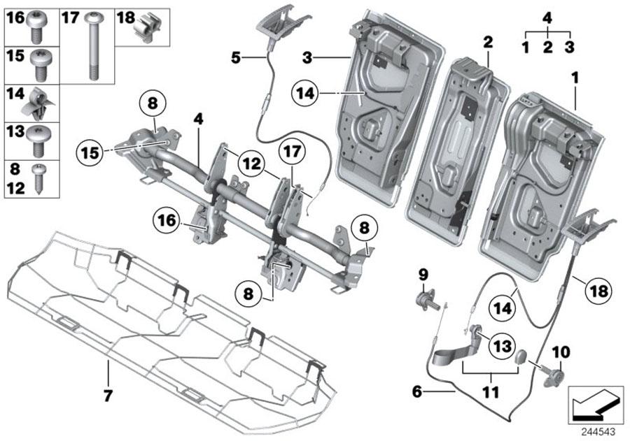 bmw i3 fillister head screw  m12x27