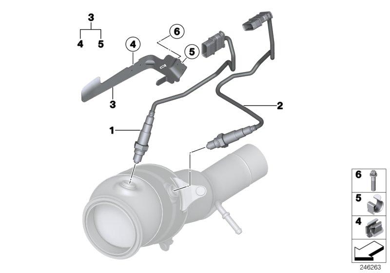 Bmw 328i Oxygen Sensor