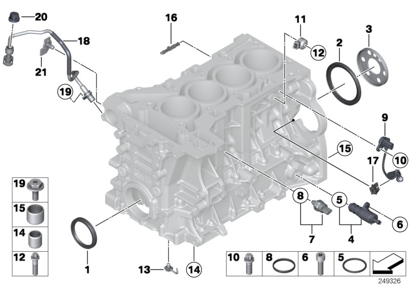 Bmw 428i Hydraulic Valve  Engine
