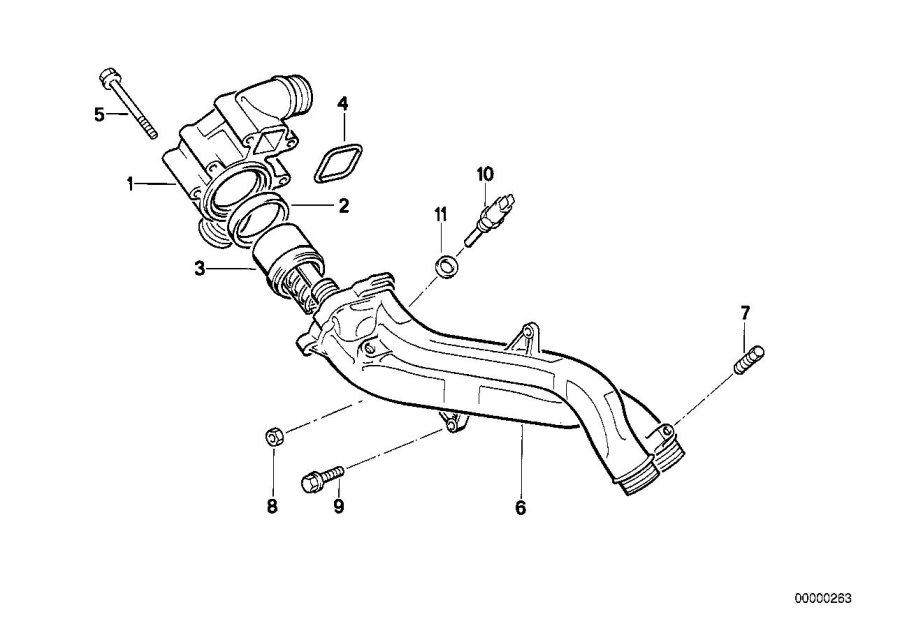 12621747281     BMW    Remote thermometre sending unit 2POL System  Engine  Head      BMW    Northwest