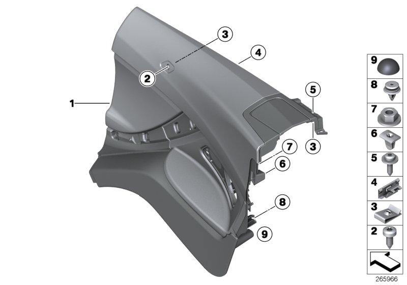Bmw 650ix Rubber Buffer