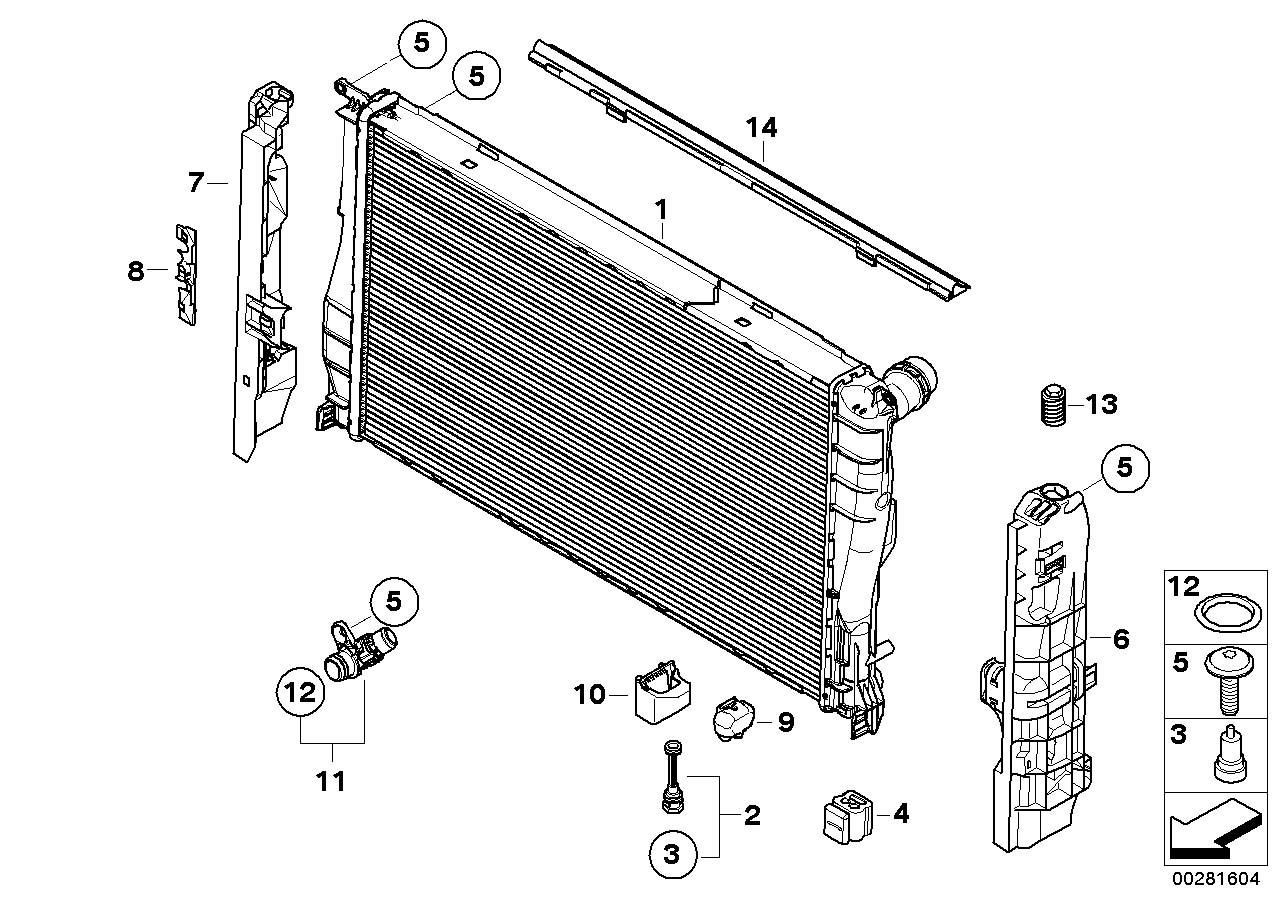 bmw x1 radiator