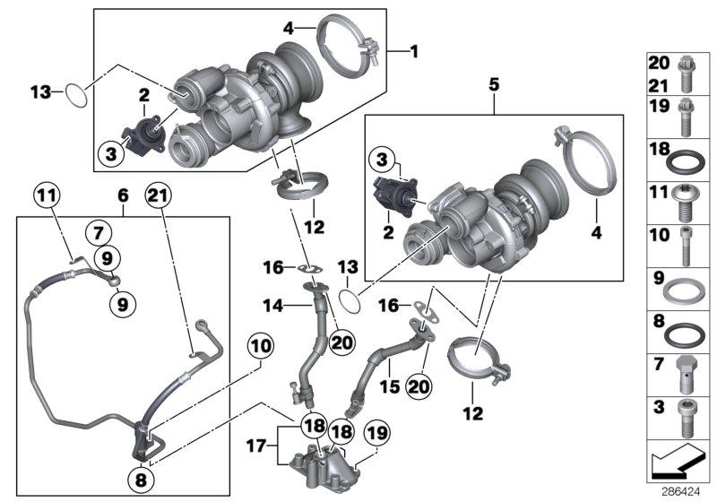 bmw alpina b7lx oil pipe  alpina  engine  rid