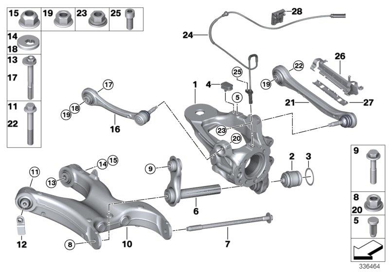 bmw x6 tubing support  right  suspension  axle  rid
