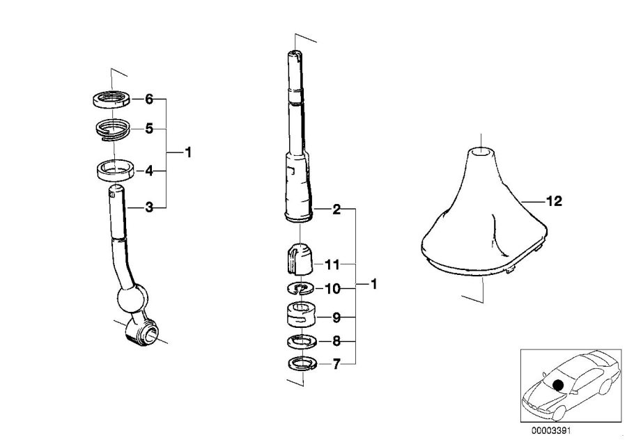 1984 bmw 318i transmission diagram