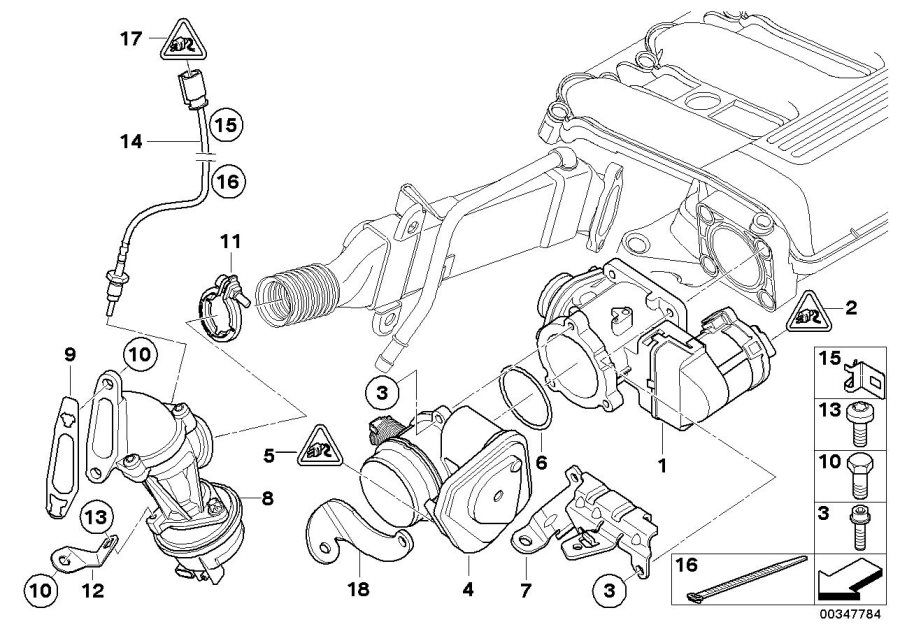 bmw 135i receptacle housing  steering  engine  system