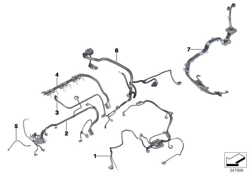 bmw x6 wiring harness engine system. Black Bedroom Furniture Sets. Home Design Ideas