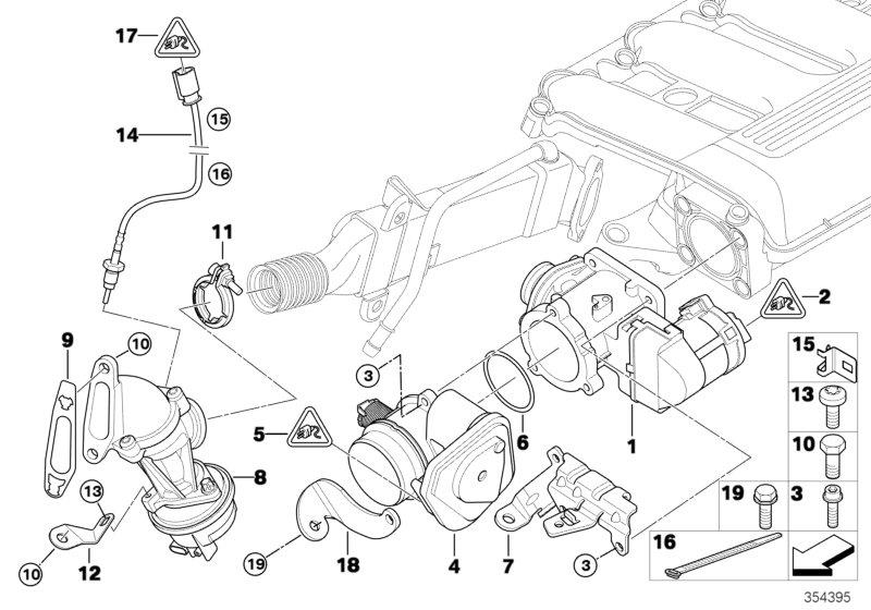 bmw 530i receptacle housing  steering  engine  system