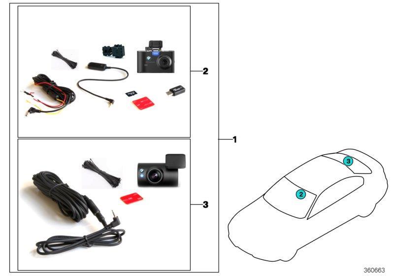 Bmw 530e Bmw Advanced Car Eye  Front Rear Cam  Prohibited