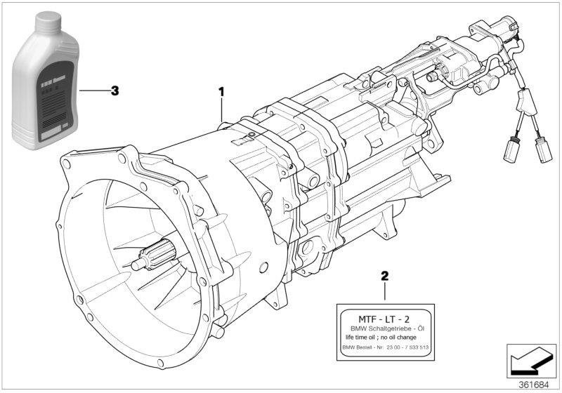 Bmw 318i Oil For Manual Gearbox Mtf Lt 2 1l Transmission