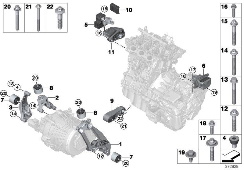 07129908650 bmw torx screw self tapping m10x70spu1 10 9 engine transmission suspension