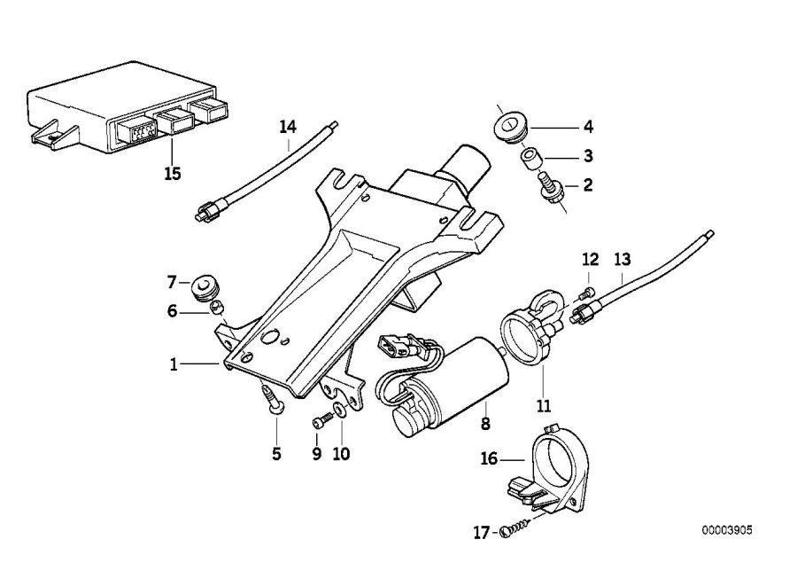 Bmw 540i Fracture Bolt  Steering  Column