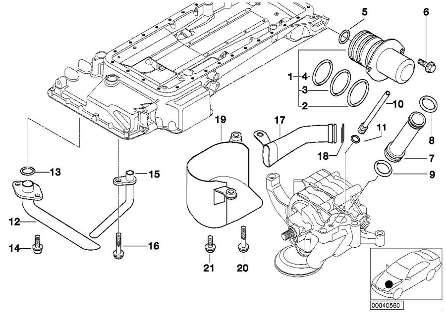 2004 bmw x5 4 4i engine diagram