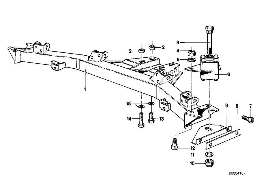 Bmw 320i Securing Bolt  M10x22 12 9