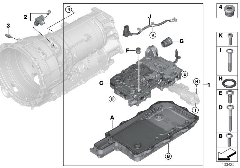 Bmw X5 Coolant    Oil Temperature Sensor  Measuring  Contin