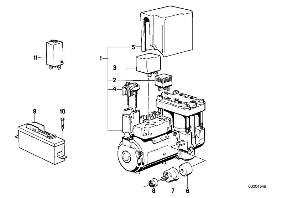 bmw m5 3 6 relay timing and valve mechanism  control