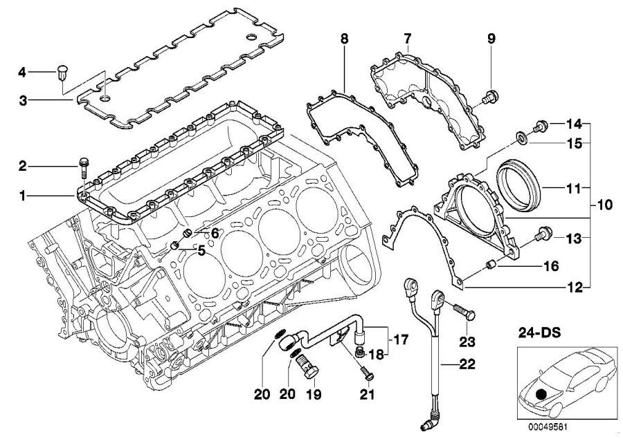 Bmw 545i Ping Sensor  Alpina  Engine  System