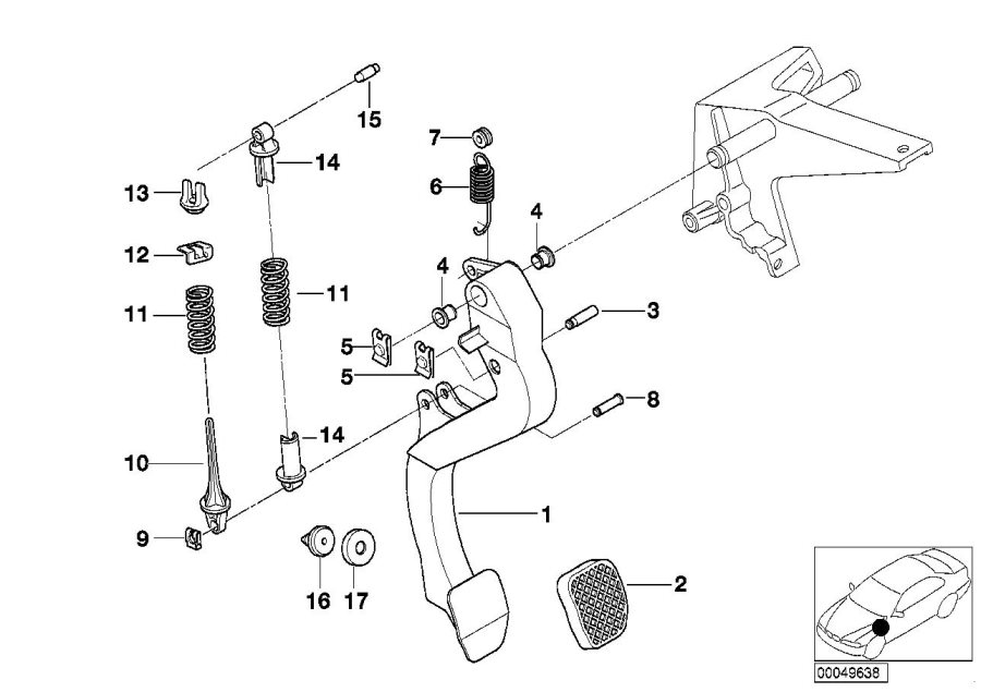 1996 bmw 328i convertible parts diagram