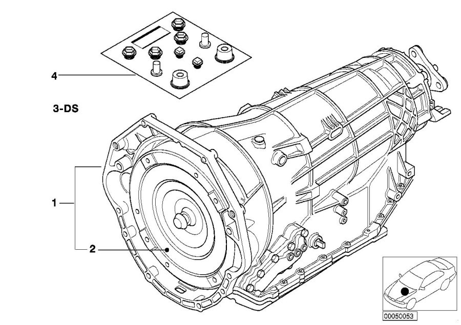 1994 bmw 540i parts diagram