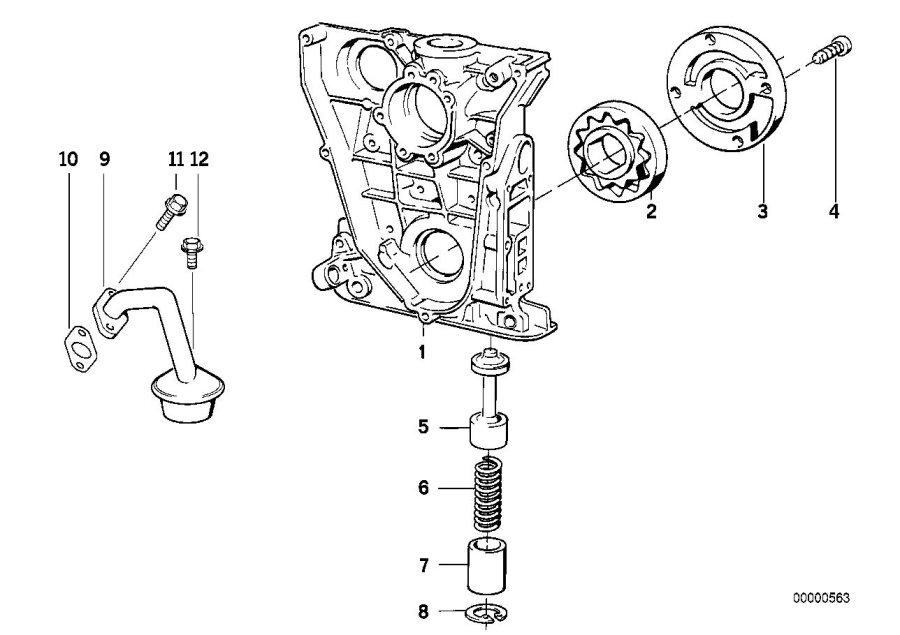 Bmw 318ti Intake Manifold  Lubrication  System
