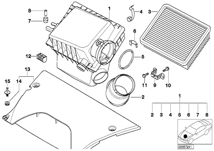 1998 bmw 740il parts diagram 1998 bmw 740il oem diagrams imageresizertool com #13