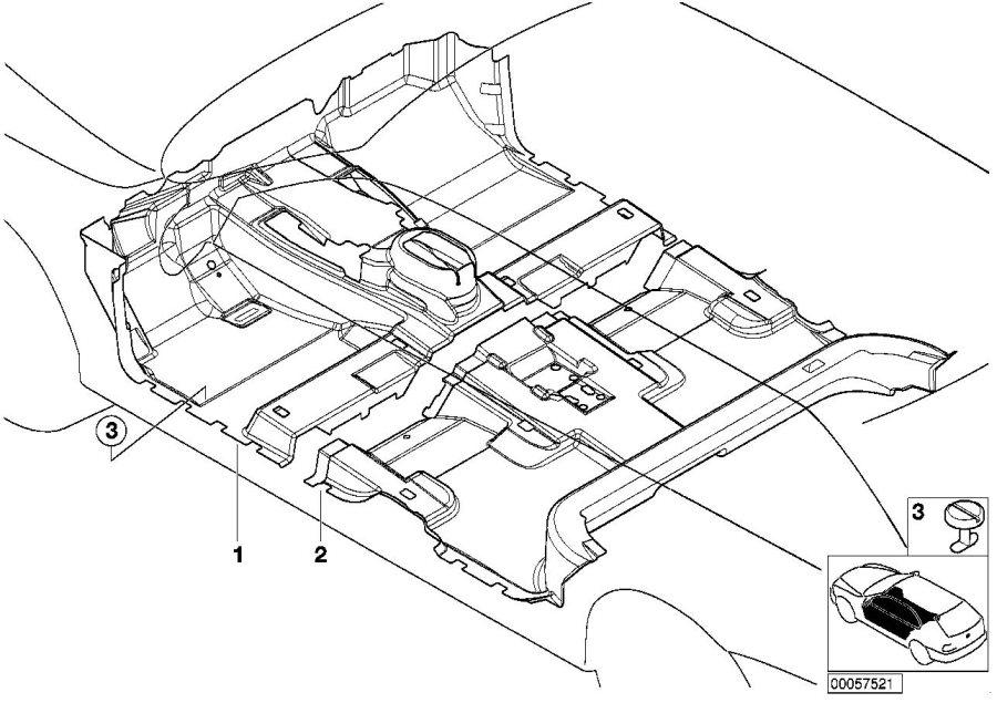 2001 bmw x5 interior parts